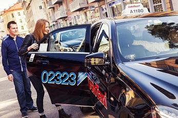 Bilde av taxi